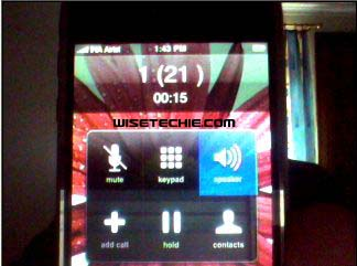 Airtel 121 from Iphone