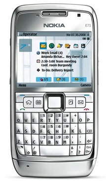 Nokia E71 Stainless Steel