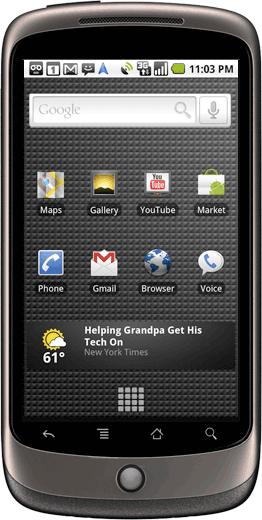 Google Nexus one phone in India