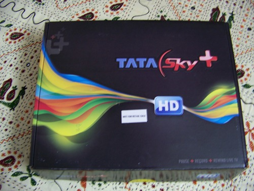 Tata Sky HD Set Top Box Carton